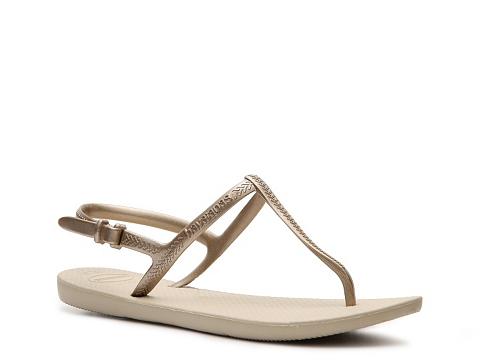 Sandale Havaianas - Freedom Flat Sandal - Gold