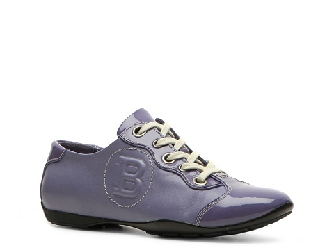 Adidasi Bally - Kayak Leather Logo Sneaker - Purple