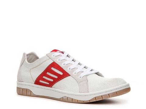 Pantofi Diesel - Stardium Sneaker - White/Red/Khaki