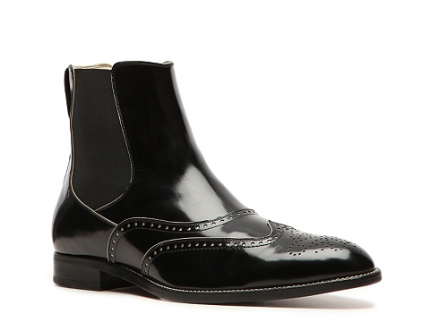 Ghete Bally - Debro Leather Wingtip Boot - Black