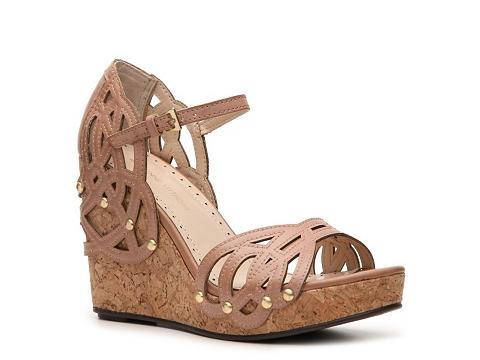 Sandale Adrienne Vittadini - Clementine Wedge Sandal - Nude