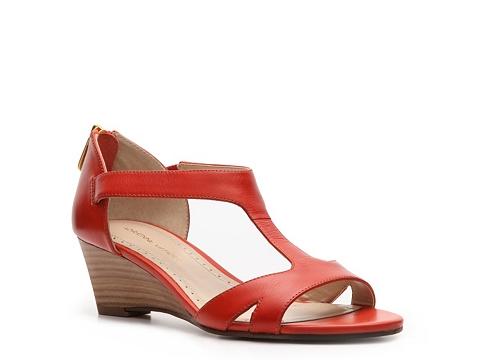 Sandale Adrienne Vittadini - Cissy Wedge Sandal - Coral
