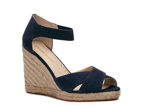 Sandale Adrienne Vittadini - Vee Wedge Sandal - Blue