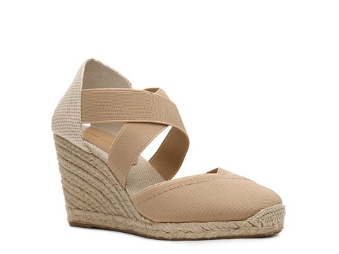 Sandale Adrienne Vittadini - Bijoux Wedge Sandal - Natural