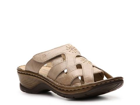 Pantofi Josef Seibel - Catalonia 15 Wedge Sandal - Ivory