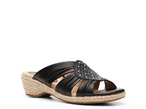 Pantofi Softspots - Audrina Wedge Sandal - Black