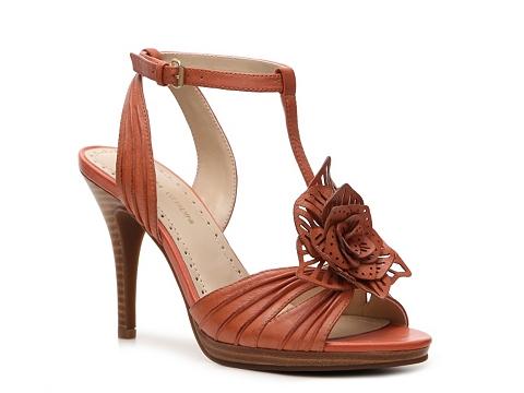 Sandale Adrienne Vittadini - Chrysalis Platform Sandal - Coral