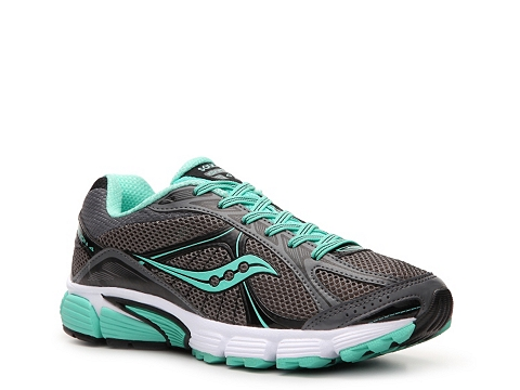 Adidasi Saucony - Grid Ignition 4 Running Shoe - Womens - Grey/Mint Green/Black