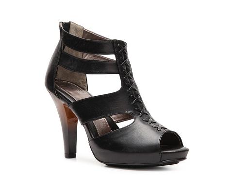 Pantofi Sofft - Pabla Platform Sandal - Black