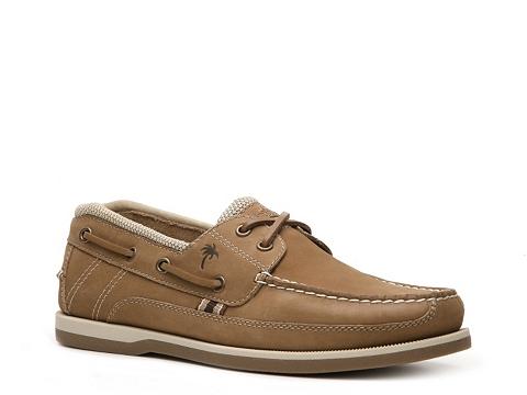 Pantofi Margaritaville - North Shore Boat Shoe - Tan