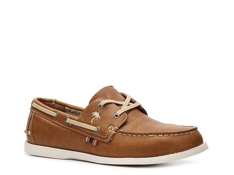 Pantofi Margaritaville - Down Islander Boat Shoe - Tan
