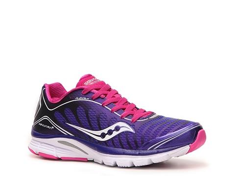 Adidasi Saucony - ProGrid Kinvara 3 Lightweight Running Shoe - Womens - Purple/Pink/White/Grey