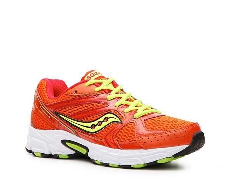Adidasi Saucony - Cohesion 6 Lightweight Running Shoe - Womens - Orange/Neon Yellow/Black/White/Lime