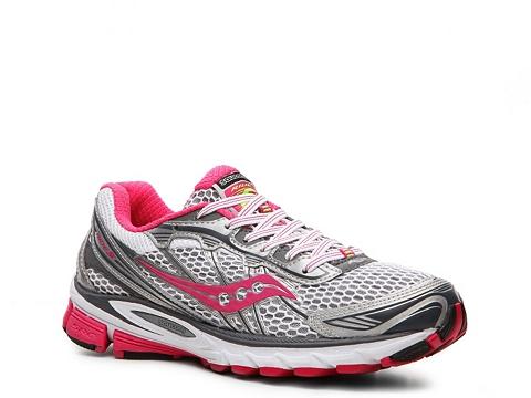 Adidasi Saucony - ProGrid Ride 5 Lightweight Running Shoe - Womens - Red