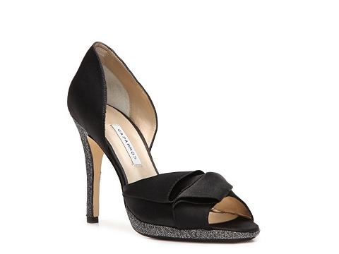 Pantofi Caparros - Tracey Satin Pump - Black