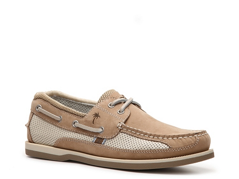 Pantofi Margaritaville - North Shore Boat Shoe - Tan/Beige