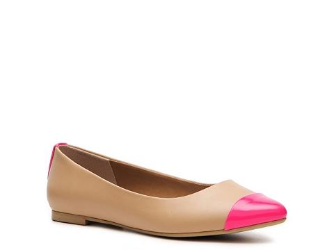 Balerini Jellypop - Absolute Flat - Tan/Pink