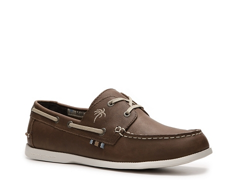 Pantofi Margaritaville - Down Islander Boat Shoe - Brown
