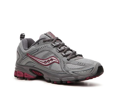 Adidasi Saucony - Grid Excursion TR6 Trail Running Shoe - Womens - Grey/Purple