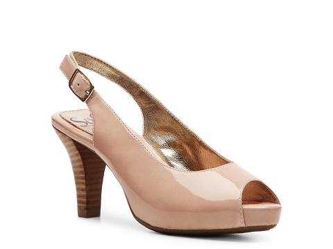 Pantofi Sofft - Scafati Patent Pump - Pink
