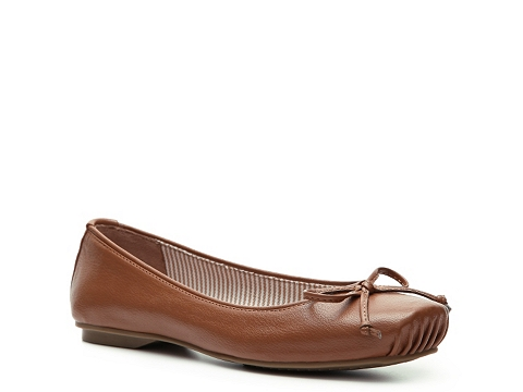 Balerini Kenneth Cole Reaction - Find A Match Flat - Brown