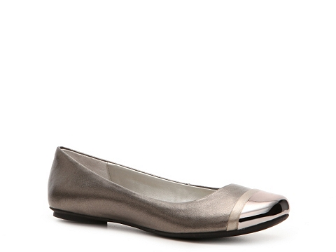 Balerini Kenneth Cole Reaction - In A Slip Flat - Pewter