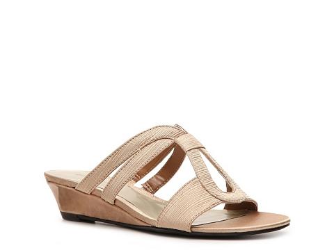 Sandale Ann Marino - Dance Wedge Sandal - Champange