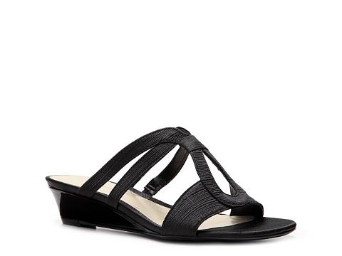 Sandale Ann Marino - Dance Wedge Sandal - Black