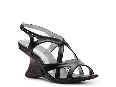 Sandale Andiamo - Melissa Wedge Sandal - Black