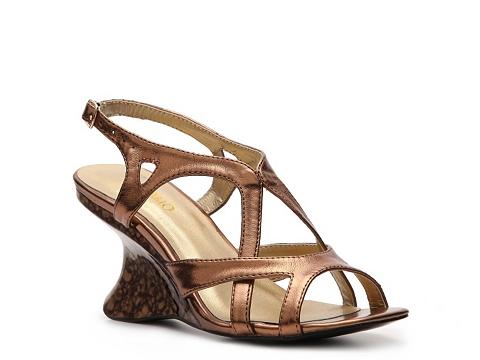 Sandale Andiamo - Melissa Wedge Sandal - Bronze
