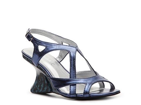 Sandale Andiamo - Melissa Wedge Sandal - Cobalt