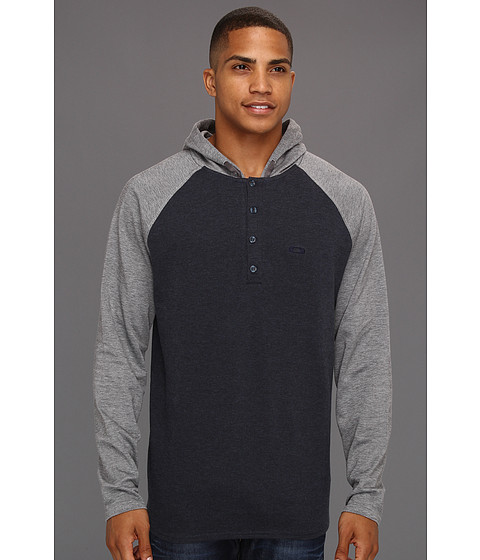 Bluze Oakley - Breaker Zone Henley - Navy Blue