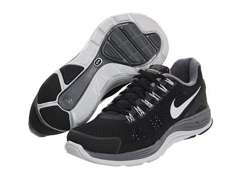 Adidasi Nike - Lunarglide+ 4 - Black/Reflective Silver/Wolf Grey