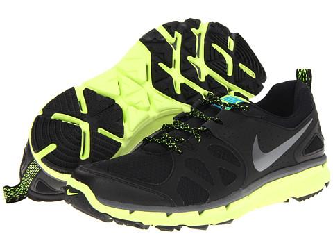 Adidasi Nike - Flex Trail - Black/Volt/Dark Grey/Metallic Dark Grey