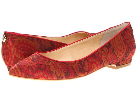 Balerini Ivanka Trump - Laura 2 - Orange Multi Fabric