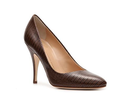 Pantofi Giuseppe Zanotti - Reptile Leather Pump - Brown
