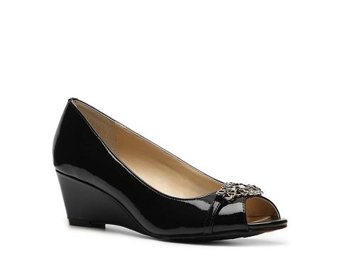 Pantofi Adrienne Vittadini - Ceslee Wedge Pump - Black
