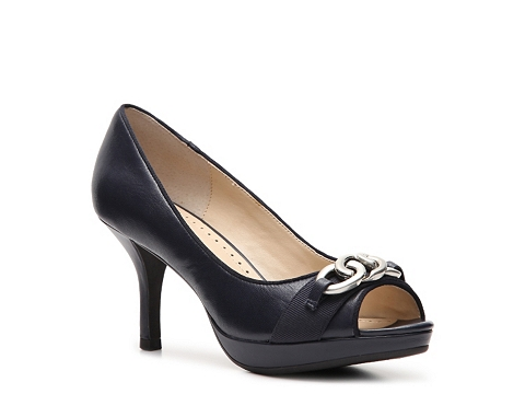 Pantofi Adrienne Vittadini - Philedelphia Platform Pump - Navy