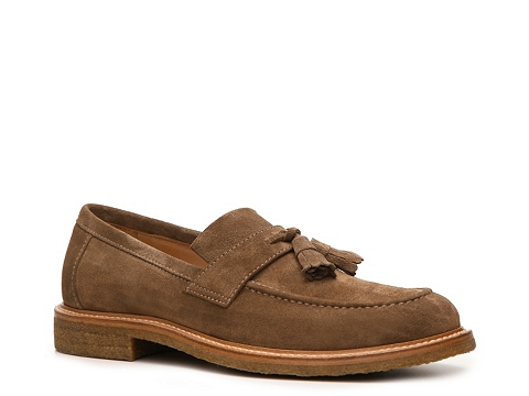 Pantofi Brunello Cucinelli - Suede Tassel Loafer - Brown