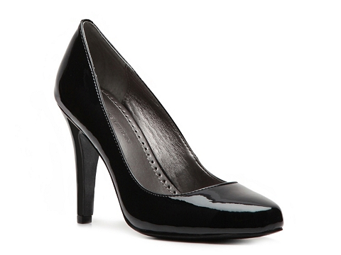 Pantofi Adrienne Vittadini - Monique Patent Pump - Black