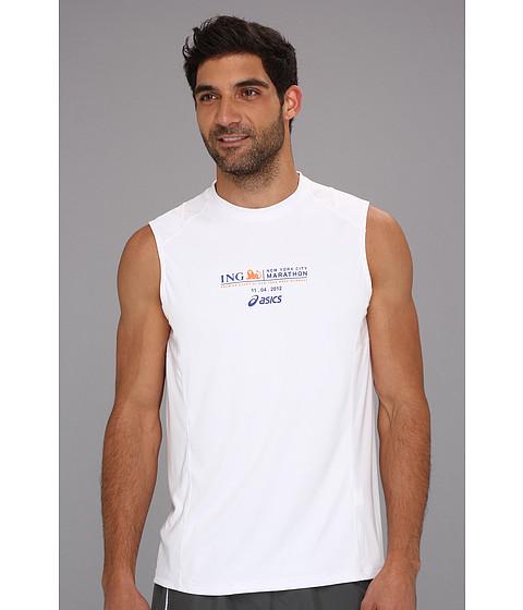 Bluze ASICS - Marathon Favorite S/S - White