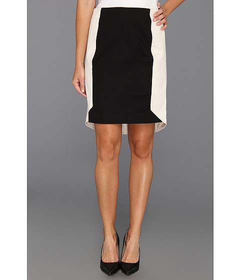 Fuste DKNY - Pencil Skirt w/ Contrast - Stone