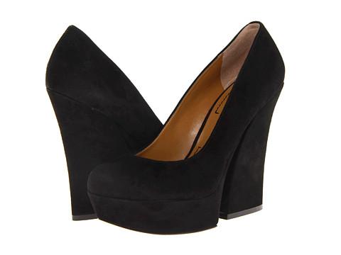 Pantofi Nine West - Blossum - Black Suede
