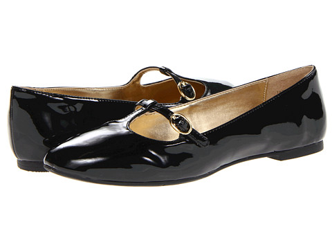 Balerini Nine West - Rivsy - Black Synthetic