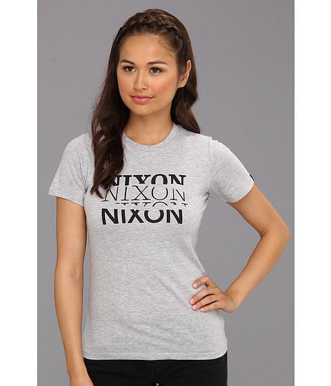 Tricouri Nixon - Torn Tee - Heather Gray