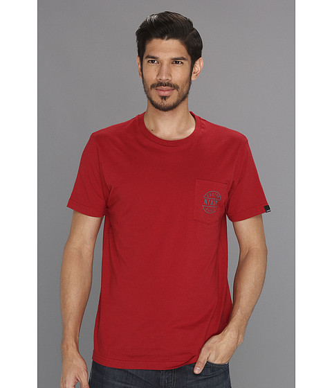 Tricouri Nixon - Revere Pocket Tee - Red