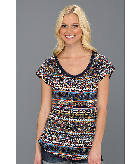 Bluze Lucky Brand - Party Paisley Top - Multi