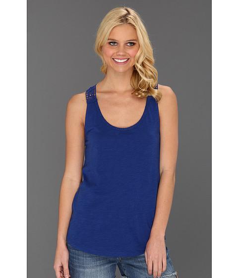 Bluze Lucky Brand - Sonora Crochet Tank - Sodalite Blue
