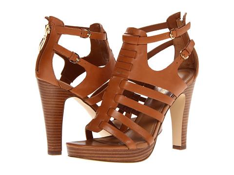 Pantofi GUESS - Edelina2 - Dark Brown Leather