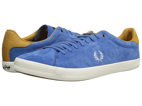 Poza Adidasi Fred Perry - Howells Unlined Suede - Lupin/Dark Gold